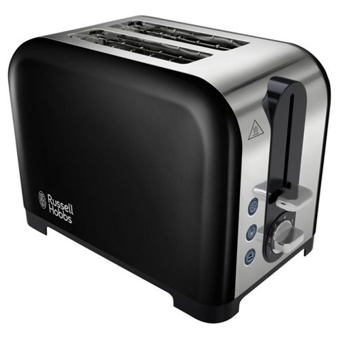 buy russell hobbs canterbury 22392 2 slice toaster black from our toasters range tesco. Black Bedroom Furniture Sets. Home Design Ideas
