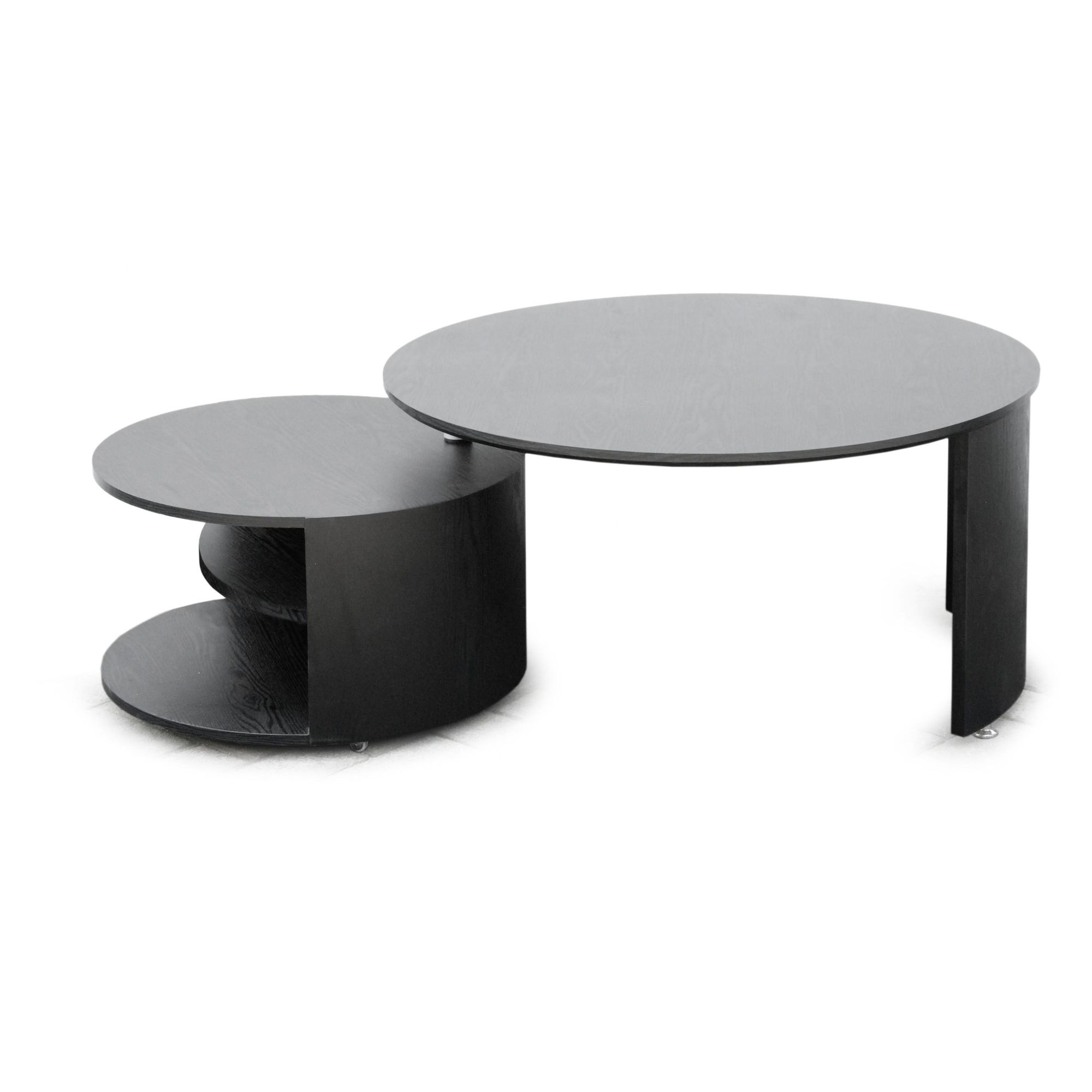 RGE Katrin Coffee Table - Lacquer Black at Tesco Direct