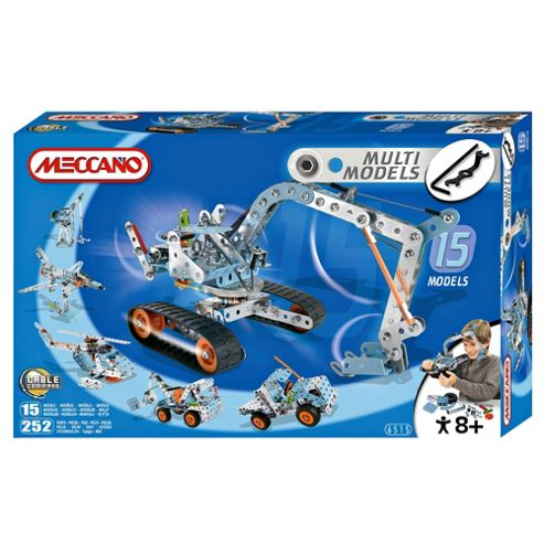 Meccano 15 Model Building Set