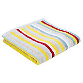 Tesco Stripe Towel - Multi