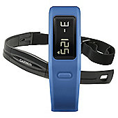 Garmin Vivofit Fitness Tracker with Heart Rate Monitor, Blue