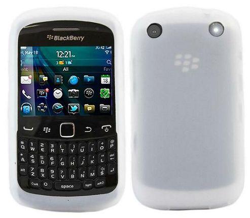 iTALKonline SoftSkin Skin Case White - For BlackBerry 9320 Curve