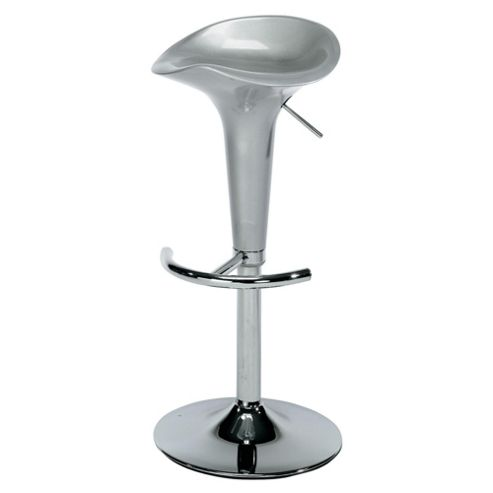 Rocco barstool, silver