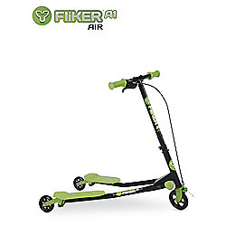 Yvolution Y Fliker A1 Air Kids' Scooter, Green