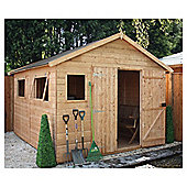 Mercia 10x12 Shiplap Workshop