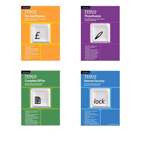 Tesco Software Bundle Complete Office
