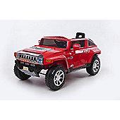 12V Hummer Ride On Car Red