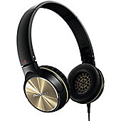 PIONEER SEMJ532 HEADPHONES (BLACK/GOLD)
