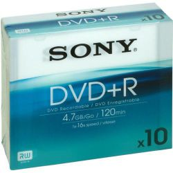 Sony DVD+R - pack of 10