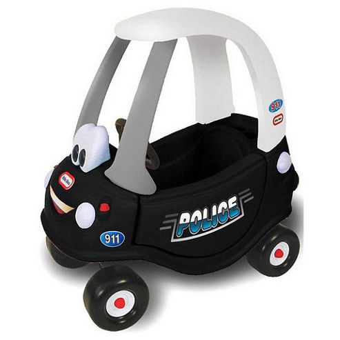 Little Tikes Patrol Police Coupe Ride-On Car, 30th Anniversary Edition
