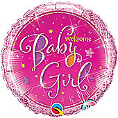 18' Welcome Baby Girl Stars (each)