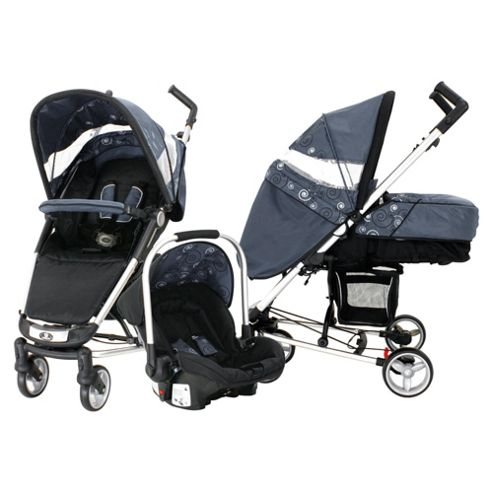 Petite Star Zia Evolve Travel System, Grey