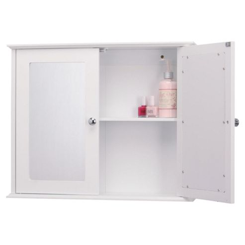buy sheringham white wood double door bathroom cabinet