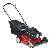 MTD Smart S46PO MTD 123CC Engine Steel Deck 46CM Push Rotary Lawnmower