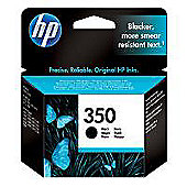 HP 350 Black Ink Cartridge- Black