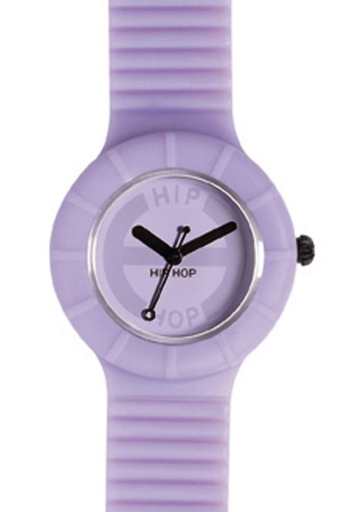 Hip Hop Unisex Full Colour Lilac Blossom Strap Watch HWU0063