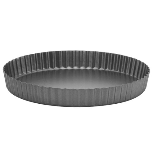 Go Cook Professional 26x4cm Fluted Loose Base Quiche Pan