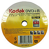 Kodak DVD+R Spindle Pack of 10