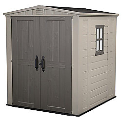 Keter 6 x 6 Plastic Apex Shed