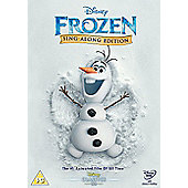 Frozen Sing-Along Edition (DVD)