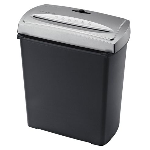 Tesco Value Cross Cut Shredder with 10 Litre Bin