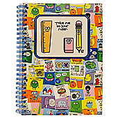 David And Goliath A5 Notebook