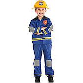 Child Fireman Costume Medium