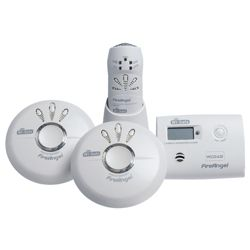 Fire Angel Wi-Safe Smoke and Carbon Monoxide Ultimate Pack