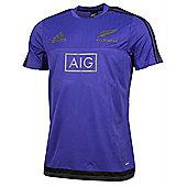 Canterbury New Zealand All Blacks Performance Tee 15/16 - Night Flash - Purple