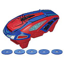 Amazing Spiderman Nerf Gun Disc Blaster