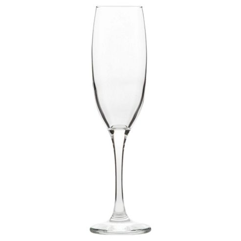 Tesco Set of 4 Champagne Flutes