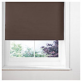Thermal Blackout Blind, Chocolate 90Cm