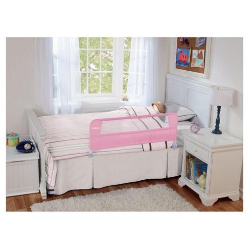 Lindam Soft Folding Bedrail, Pink