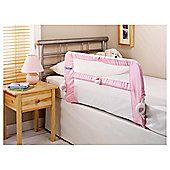 Lindam Soft Folding Bed Rail, Pink