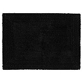 Tesco reversible bath mat black