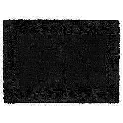 Tesco Reversible Bath Mat, Black