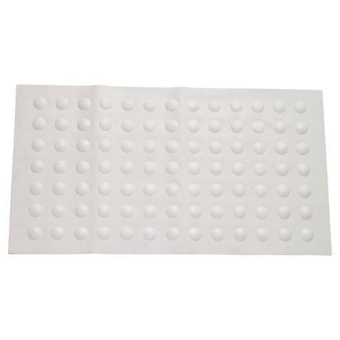 Tesco Rubber Bubble Bath Mat White