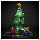 Inflatable Christmas Tree With Decorations And Gifts, 4ft
