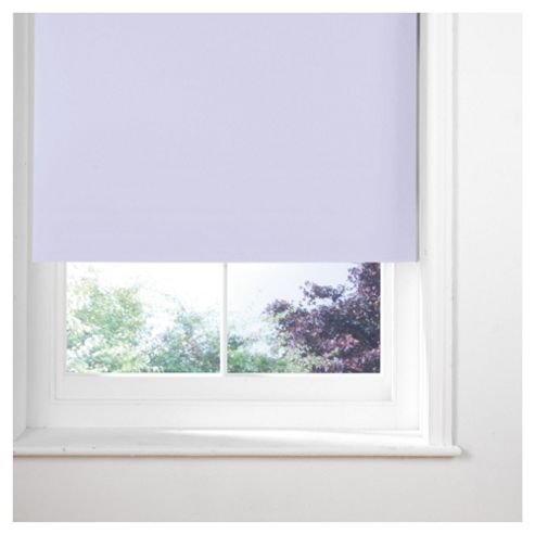 Thermal Blackout Blind, Lilac 180Cm