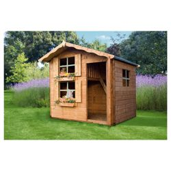 Mercia 7ft x 5ft Snowdrop Playhouse