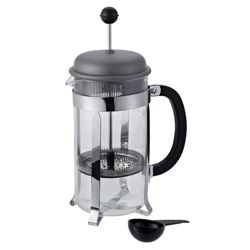 Bodum French Press 8 Cup Coffee Maker, Silver.