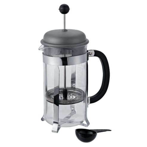 Bodum French Press 8 Cup Coffee Maker, Silver