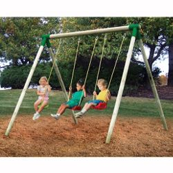 Little Tikes Oslo 3-in-1 Wooden Swing Set