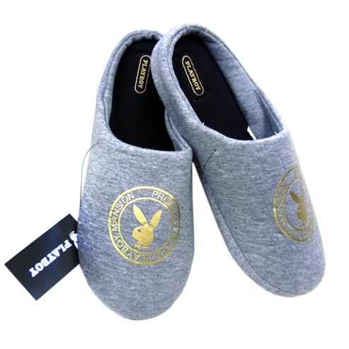 Playboy Mansion Mule Slippers for Men - 11 to 12