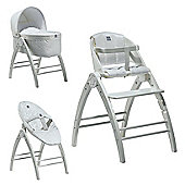 BabyDan Angel 3 in 1 Crib, High Chair & Recliner