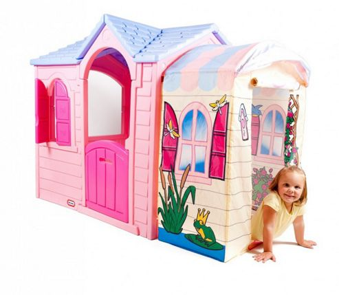 Buy Little Tikes Princess Garden Playhouse From Our Plastic Playhouses Range Tesco