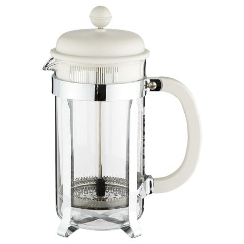 Bodum 8 cup Caffettiera Coffee Maker, White