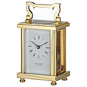 David Peterson Ltd 8 Day Heavy Flat Carriage Clock