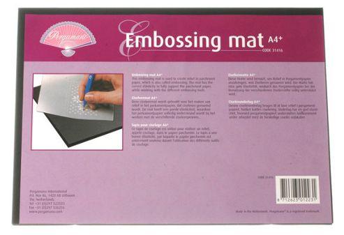 Pergamano Embossing Mat A4+ - PG31416