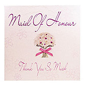 Bliss Wedding - Maid of Honour Wedding Card